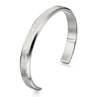 Fred Bennett S/Steel Gents Bangle B4724