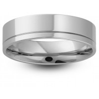 5mm Patterned Wedding Band Available in 9ct and 18ct Gold