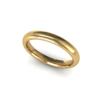 18ct Yellow Gold 2.5mm Classic Court Wedding Band Size K 1A1/2.5 SPECIAL OFFER
