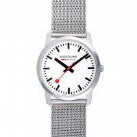 Mondaine Simply Elegant 36mm Stainless Steel Watch A400.30351.16SBM