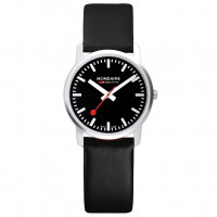 Modaine Simply Elegant, 41 MM, Black Leather Watch, A638.30350.14SBB