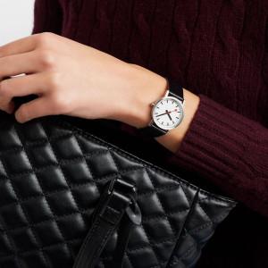 Mondaine Class 30mm Leather Strap Watch A658.30323.16OM
