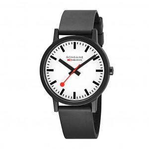Mondaine Essence 41mm Vegan Sustainable Watch MS1.41110.RB