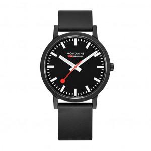 Mondaine Essence 41mm Vegan Sustainable Watch MS1.41120.RB