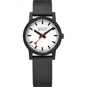 Mondaine Essence 32mm Vegan Sustainable Watch MS1.32120.RB