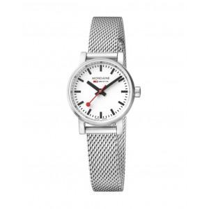 Mondaine EVO2 26mm Stainless Steel Watch For Women MSE.26110.SM