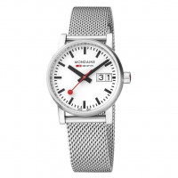 Mondaine EVO2 30mm Stainless Steel Watch For Women MSE.30210.SM