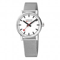 Mondaine EVO2 35mm Stainless Steel Watch MSE.35110.SM