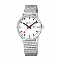 Mondaine EVO2 40mm Stainless Steel Watch MSE.40210.SM
