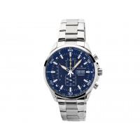 Accurist Gents Blue Dial Chrono Bracelet Watch 7005