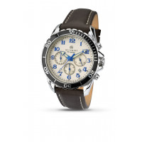 Accurist London Gents Chronograph Strap Watch 7055