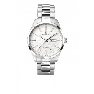 Accurist Gents Classic Watch In Stainless Steel 7056