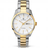 Accurist Gents Classic Two Tone Watch 7057