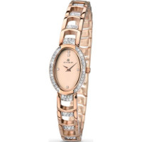 Accurist London Ladies Rose Plated Bracelet Watch 8037