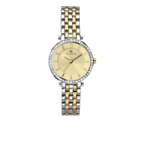Accurist London Ladies Two Tone Bracelet Watch 8123