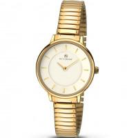 Accurist London Ladies Gold Plt Expanding Watch 8140