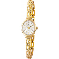 Accurist London 9ct Gold Ladies Watch 8801