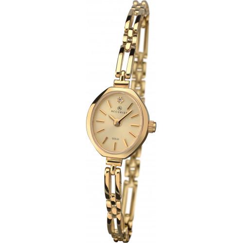 Accurist London 9ct Gold Ladies Watch 8804