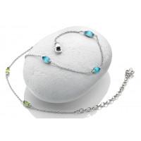 Anais Sterling Silver Real Gemstone Bracelets AB00