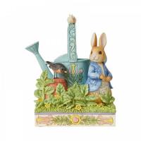Caught in Mr. McGregor's Garden (Peter Rabbit Figurine) 6008744
