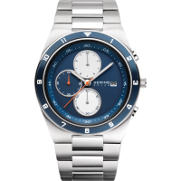 Bering Men's Solar Stainless Steel Watch 34440-708