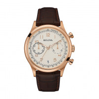 Bulova Gent's Chrono Strap Watch 97B148