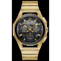 Bulova Mens Curved Bracelet Watch 97A144