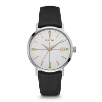 Bulova Gents Classic Strap Watch 98B254
