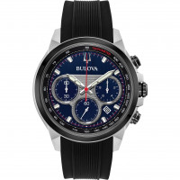 Bulova Gents Chrono Strap Watch 98B314