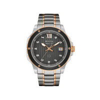 Bulova Gents Marine Star Diamond Watch 98D127