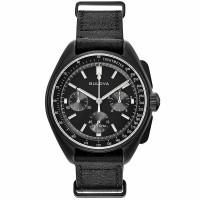 Bulova Special Edition Lunar Pilot Chronograph Watch 98A186