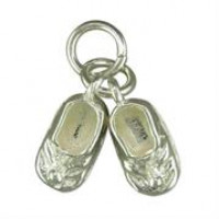 Silver Ballet Shoes Charm