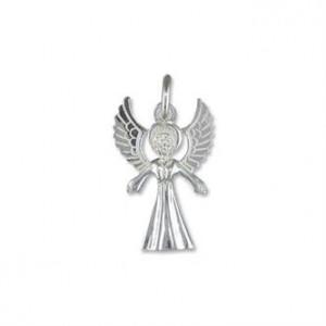 SIlver Angel Charm