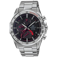Casio Edifice Slim Bluetooth Solar Red Watch EQB-1000XD-1AER