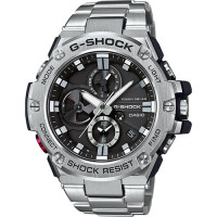 Casio G-Steel Bluetooth Triple Connect Chrono Watch GST-B100D-1AER