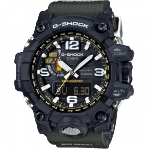 Casio Mudmaster Radio Controlled Solar Watch GWG-1000-1A3ER