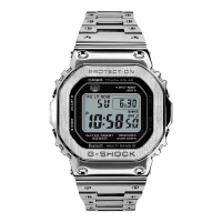 Casio Full Metal Silver Bluetooth Watch GMW-B5000D-1ER