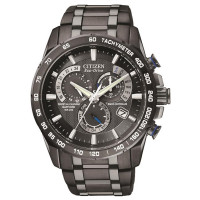 Citizen Chrono A.T Black Bracelet Watch AT4007-54E
