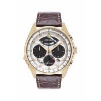 Citizen Mens Chronograph Eco Drive Strap Watch AV0068-08A