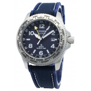 Citizen Eco-Drive Promaster GMT Watch BJ7100-15L