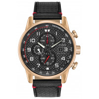 Citizen Eco Drive Chronograph Strap Watch CA0683-08E