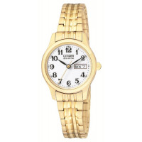 Citizen Gold Plated Ladies Expanding Bracelet Watch EW3152-95A