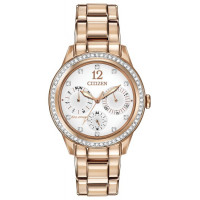 Citizen Ladies Eco-Drive Crystal Bracelet Watch FD2013-50A
