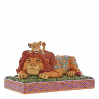 A Father's Pride (Simba & Mufasa Figurine), Disney Traditions Collection