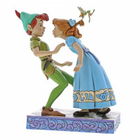 An Unexpected Kiss (Peter & Wendy 65th Anniversary Piece), Disney Traditions Collection