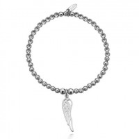 Dollie Sterling Silver Hope Angel Wing Bracelet B0054