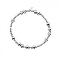 Dollie Sterling Silver Maxi Popcorn Bracelet B0122