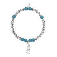Dollie Sterling Silver Dione Blue Moon Bracelet B0049