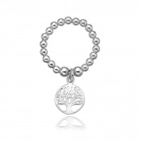 Dollie Sterling Silver Tree of Life Ring R0023
