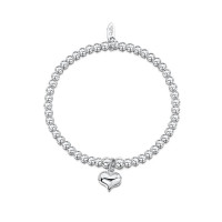 Dollie Sterling Silver Paris Heart Bracelet B0003